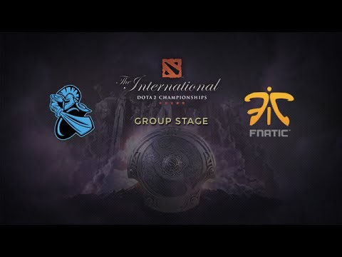 NewBee -vs- Fnatic, The International 4, Group Stage, Day 1