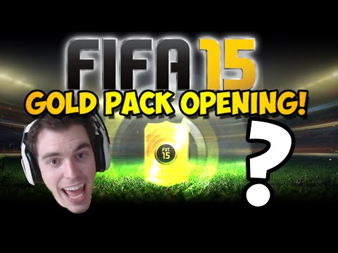 FIFA 15 GOLD PACK OPENING!