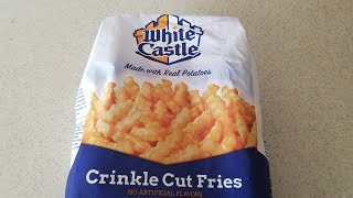 White Castle Crinkle Cut Fries Cooks Essentials Air Fryer
