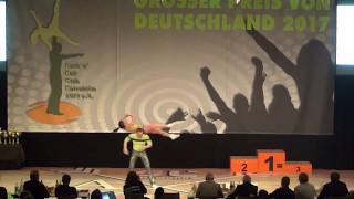 Julia Geishauser & Patrick Pfaller - Großer Preis von Deutschland 2017