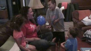 Baby Talk, New Job and Helium!