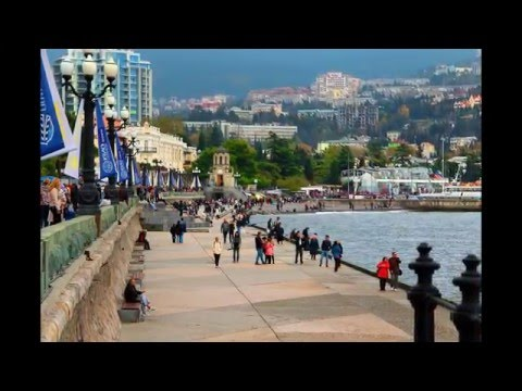 Yalta, Crimea - Russia/Ukraine. HD Travel.