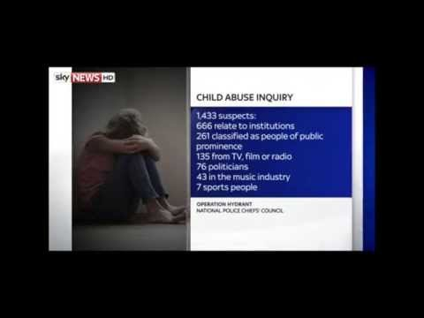 In UK child sex abuse inquiry 1,400 people named as suspects