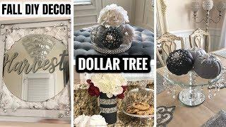 DIY Fall Home Decor Ideas 2018 | Dollar Tree DIY Home Decor