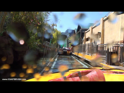 Jurassic Park The Ride/ River Adventure (HD Complete Experience) Universal Studios Hollywood USH