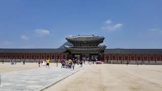 Istana Gyeongbokgung Korea 20/June/18