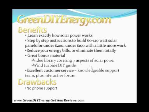 The Green DIY Energy Guide That Actually Works