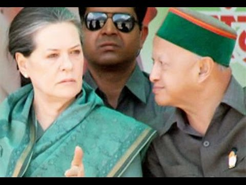 Himachal CM Virbhadra Singh Meets Sonia Gandhi Over Uttarakhand Crisis