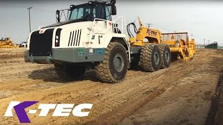 K-Tec 1233 ADT and Terex TA 400 Self Loading