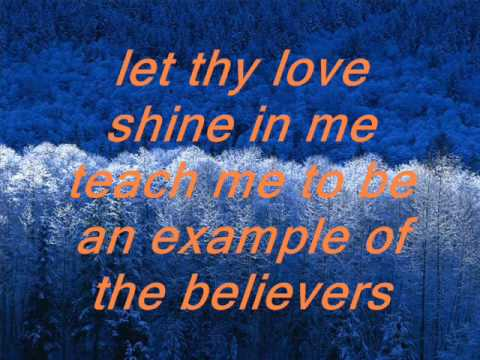 A Believer's Prayer Lyrics By Sally Deford video