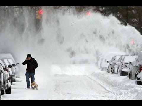75 Million On U.S. East Coast In Path Of Massive Snow Storm - Thousands Of Flights Cancelled