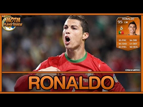 FIFA 14 UT - MOTM Ronaldo || Man of the Match Ultimate Team 95 Player Review + In Game Stats