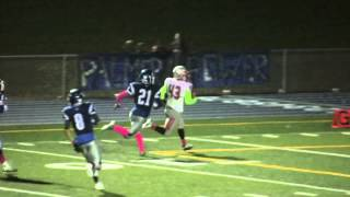 Mosiah Renk Bursts a Seam, Takes it to the House! Wasilla Football