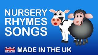NURSERY RHYMES SONGS | Songs from the UK. Nursery Rhymes Playlist. .