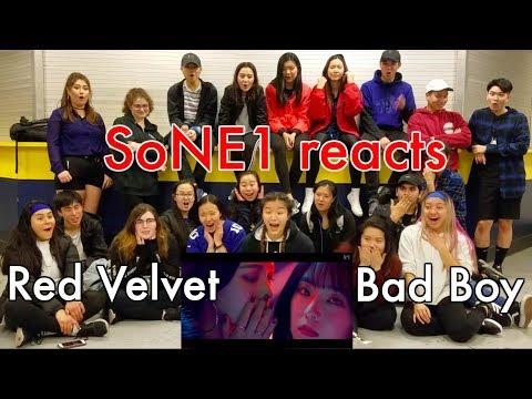 Red Velvet (레드벨벳) - Bad Boy (배드보이) M/V Reaction By SoNE1