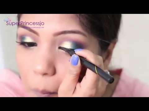 How To Do Indian Wedding Party Makeup  | SuperPrincessjo