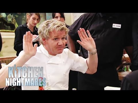 Gordon Tricks Ignorant Restaurant Owners - Kitchen Nightmares