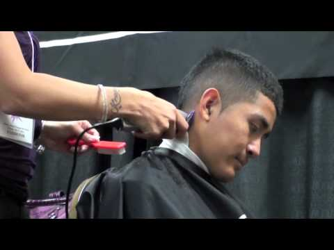 HAIRCUTTING; Faux-Hawk CLIPPER CUT FOR MEN