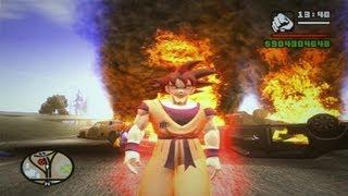 MOD DBZ GOKU KAIOKEN KAMEHAMEHA 20X by oliveira GTA SA FULL HD 1080p