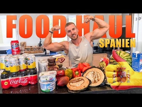 IIFYM Food Haul im spanischen Supermarkt