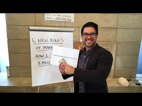 💵 5 New Rules Of Marketing: How I Got 11 Million Followers 💰tailopez.com/growfollowing