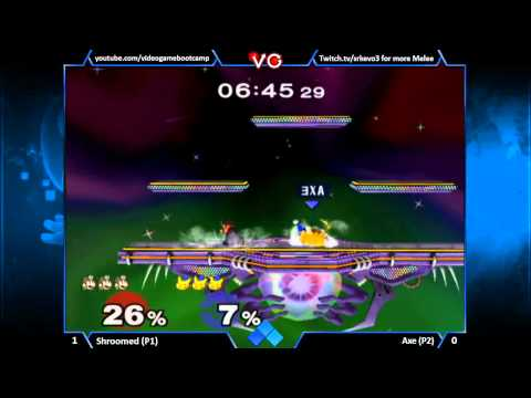 Evo 2K13 - Shroomed (Doctor Mario) Vs Axe (Pikachu) SSBM Semi Finals Bracket - Smash Bros Melee