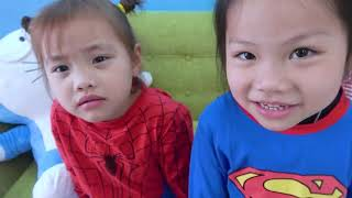 Funny Children Unboxing Graffiti Field Johnny Johnny Yes Nursery Babe Rhyme Children's Song