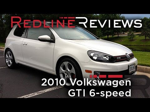 Redline One-Year Review: 2010 Volkswagen GTI 6-speed