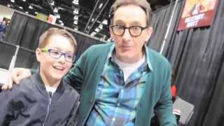Channel6.ca Kids Corner - We meet Tom Kenny (Sponge Bob and Ice King)