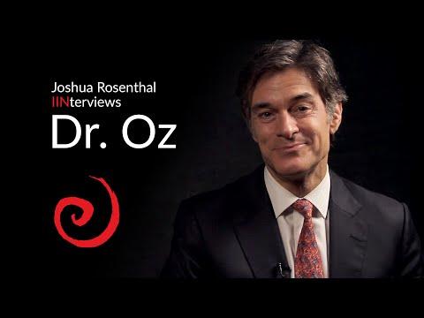 Joshua Rosenthal Interviews Dr. Oz | IIN Depth