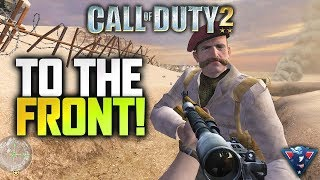 FIGHTING ACROSS FRONTS!! | Call of Duty 2 Campaign Playthrough Part 2
