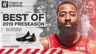 James Harden BEST Highlights & Plays from 2019 NBA Preseason!