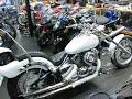ヤマハ ドラッグスター400車検公認車両 トリプルツリー スラッシュカットマフラー 1996年 400cc パールホワイト バイク買取MCG福岡