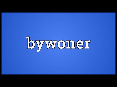 Header of bywoner