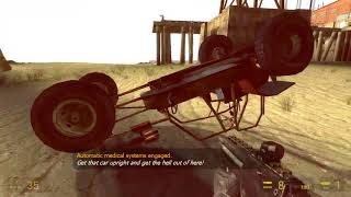 Half Life 2 part 15 - Another Vehicle Section