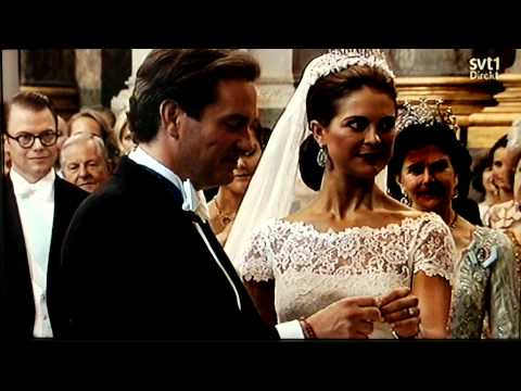 Prinsessan Madeleine & Chris o'neill Bröllop 2013-06-08