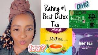 LET'S TALK TEA   BEST DETOX TEA RATED  IASO TEA   YOGI TEA   3 BALLERINA TEA