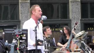 Sting - Englishman In New York (Live Performance)