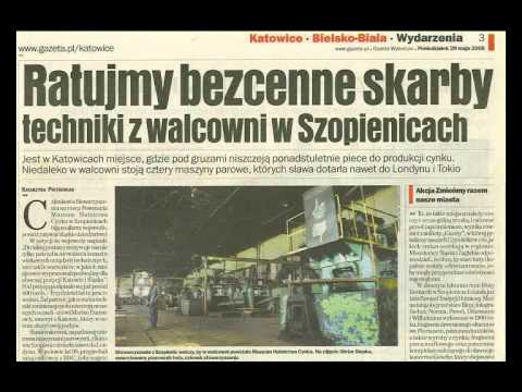 Walcownia Cynku W Katowicach - Szopienicach