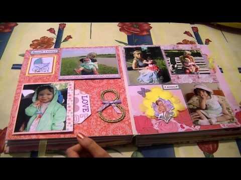 Сделать детский фотоальбом своими руками поэтапно
