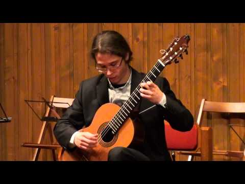 Francisco Morais Franco plays Vicente Asencio: La serenor y La joya from