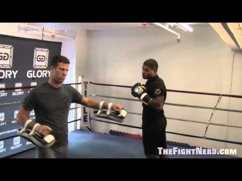 Tyrone Spong  Glory 9 Press Workout