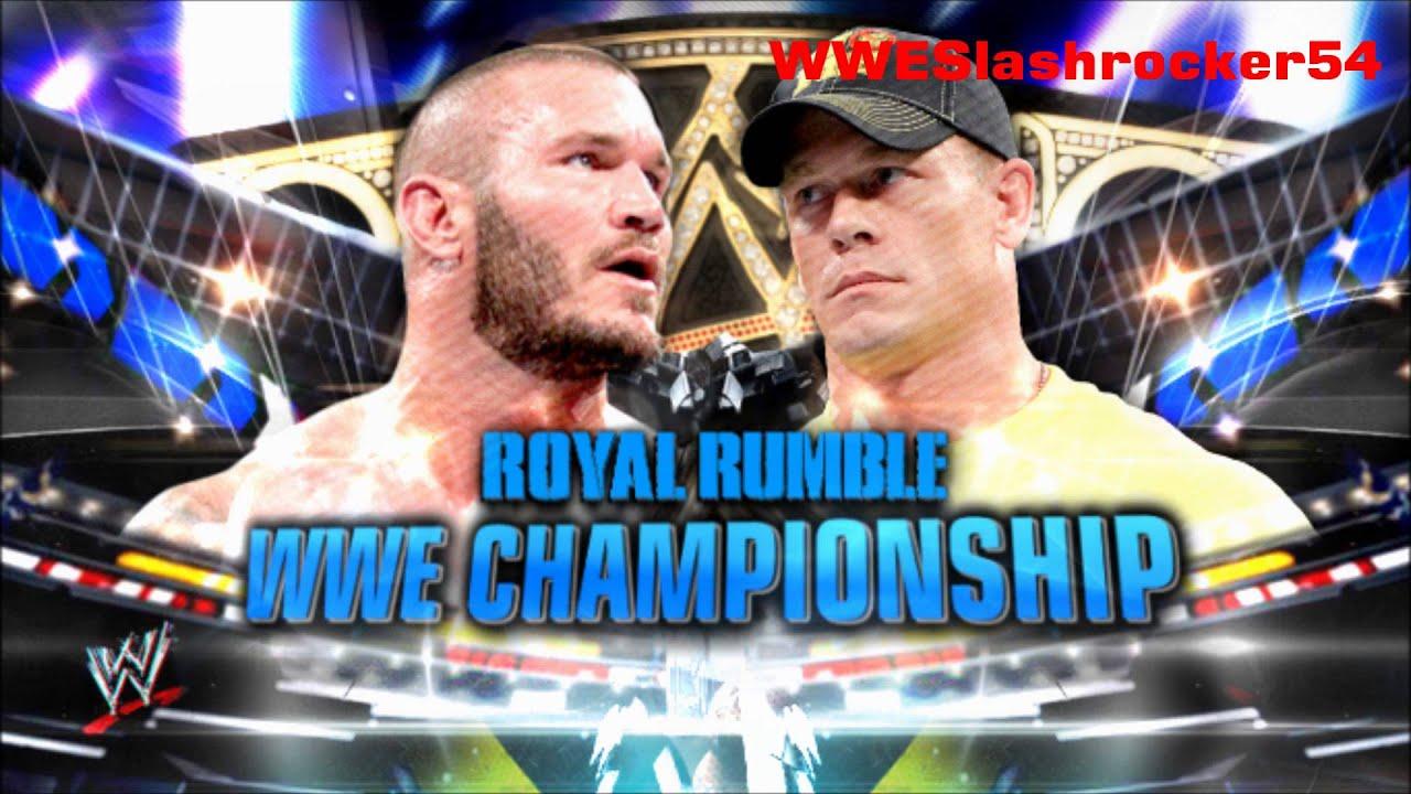 Wwe 2012 Randy Orton vs John Cena Randy Orton vs John Cena