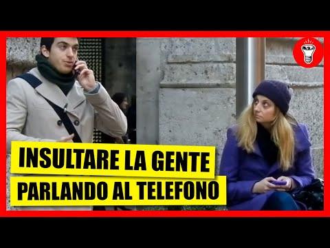Insultare la Gente Parlando al Telefono [Esperimento Sociale] - theShow #10