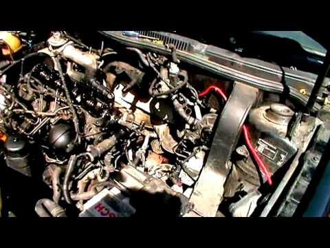 change vw golf mk4 1.9 GT TDI engine. part-1