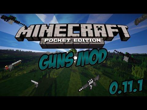 Minecraft PE 0.11.1 Guns Mod [Deutsch/HD+] +Download