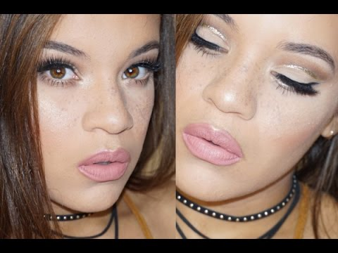 Easy Glitter Cut Crease for Hooded Eyes  Allis Peguero