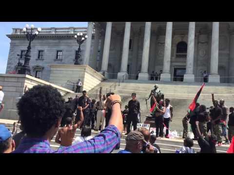 Black power chant