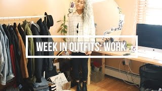 WEEK IN OUTFITS: First Week of Work | floreign