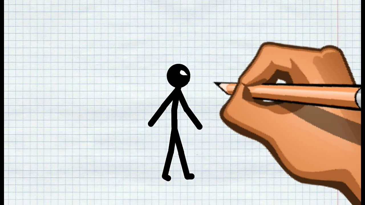Как нарисовать мульт про человечков
